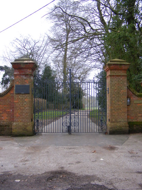 The entrance to Darsham House