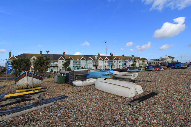 Guest Houses from East Worthing beach