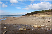 NS2109 : Beach at Barwhin Point by Billy McCrorie