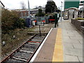 SS9079 : The end of the line at platform 3, Bridgend railway station by Jaggery