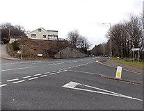 SS8983 : Corner of Bridgend Road and Park Road, Aberkenfig by Jaggery