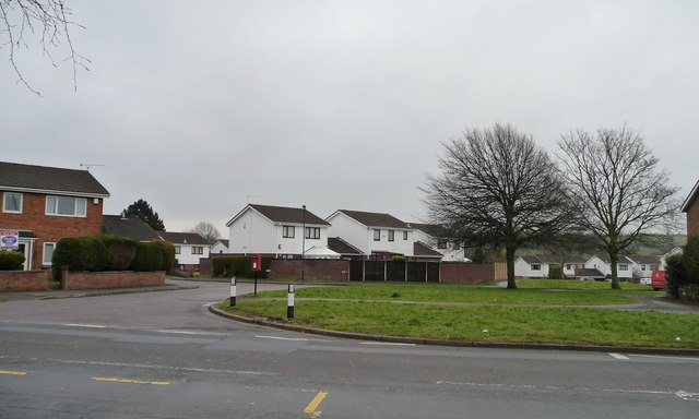 White houses in The Meadows