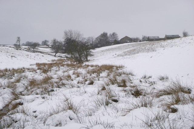 Tewitt Farm, Eldwick  from the east