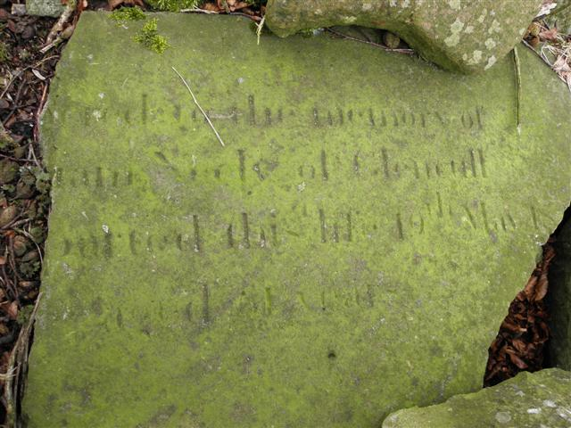 Inscribed stone, Glencull