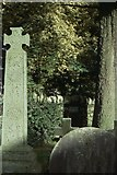 SD3097 : St Andrew's church, Coniston: grave of John Ruskin by Christopher Hilton