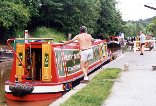 Rag Doll Audlem Wharf 169 Jo Turner Geograph Britain And