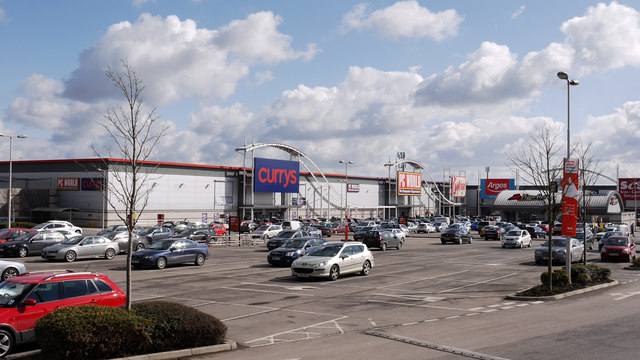 Durham City Retail Park C Trevor Littlewood Geograph Britain And