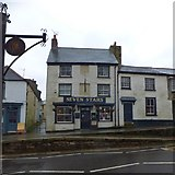 SW7834 : Seven Stars inn, The Terrace,  Penryn by David Smith