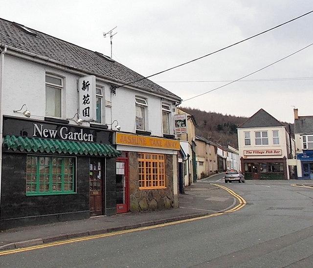 New Garden restaurant and Jasmine Takeaway, Aberkenfig