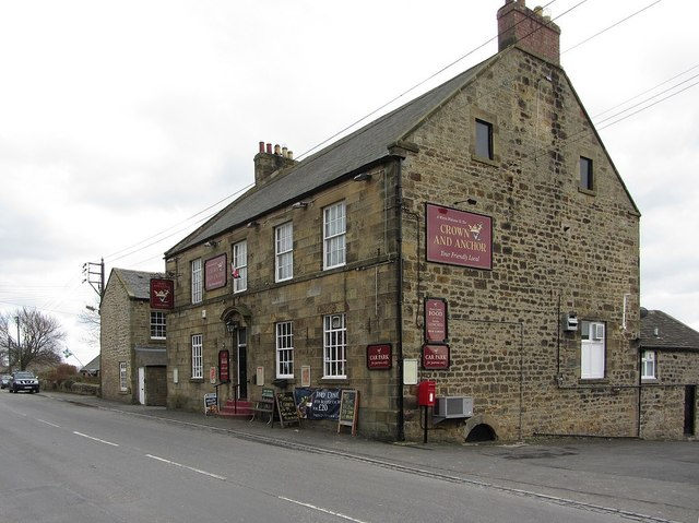 Crown And Anchor, Horsley