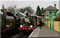 TQ3635 : Crossing at Kingscote by Peter Trimming