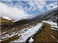 NS9004 : Track below Durisdeer Rig by Alan O'Dowd