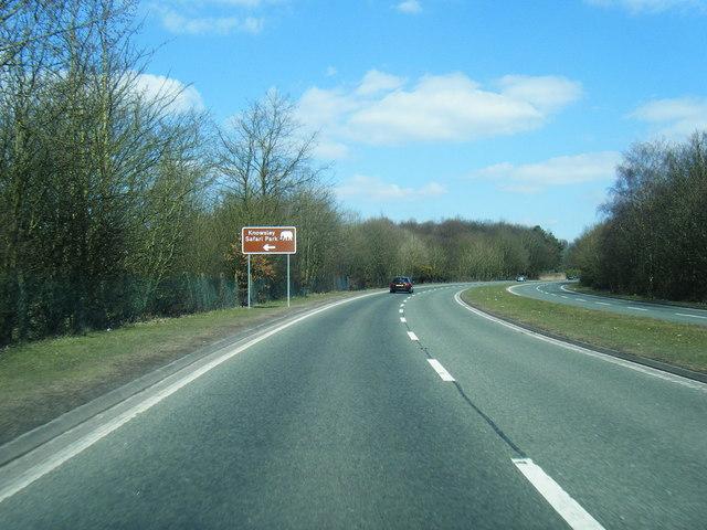 A58 Prescot by-pass