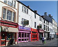 SH4762 : Two takeaways for sale, Castle Square, Caernarfon by Jaggery