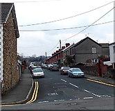 SS8983 : Coronation Street, Aberkenfig by Jaggery