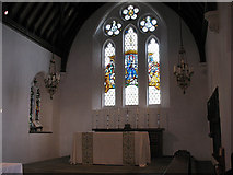 TQ2976 : Chancel of Christ Church, Clapham by Stephen Craven