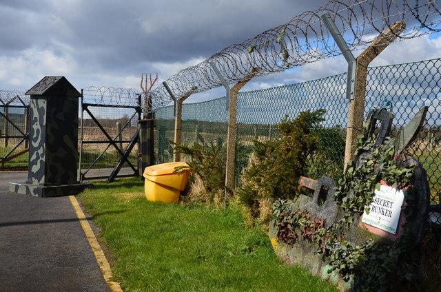 Secret Bunker entrance gate