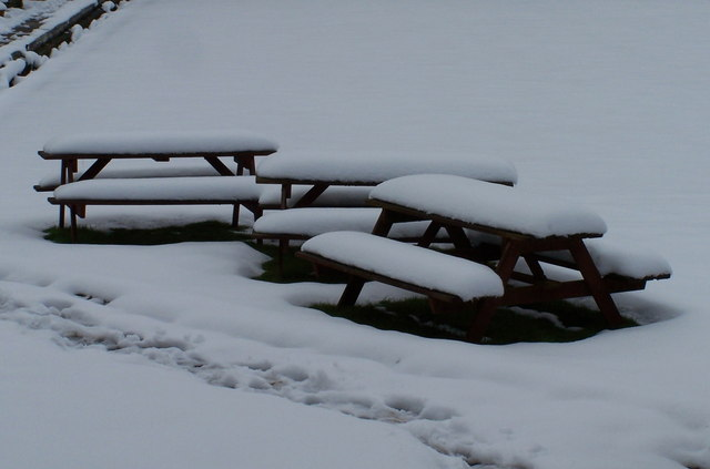 Picnic in the Snow, Anyone? - Friendship Bowling Club, Stocksbridge