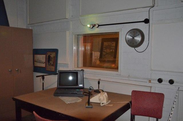 Broadcasting studio, Secret Bunker