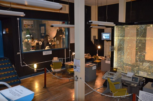 Central Government operations room, Anstruther Secret Bunker (2)