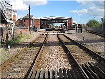 TA2609 : Grimsby Town railway station, Lincolnshire, 2010 by Nigel Thompson