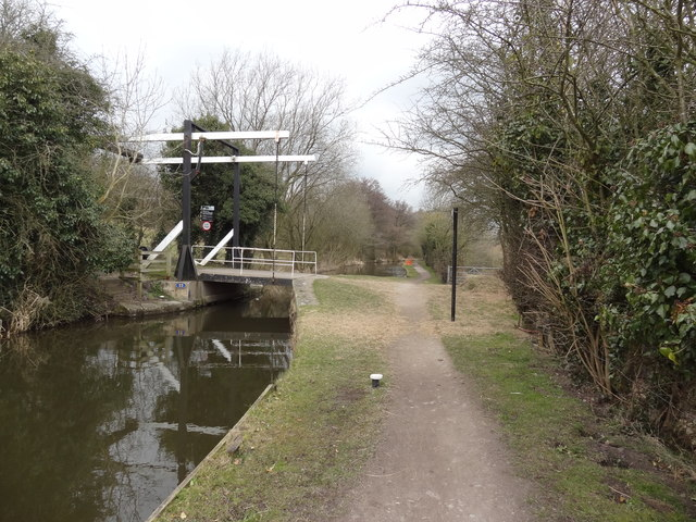 Lift Bridge on Peak Forest Canal