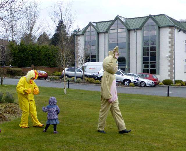 Easter egg hunt at the Silverbirch Hotel, Omagh