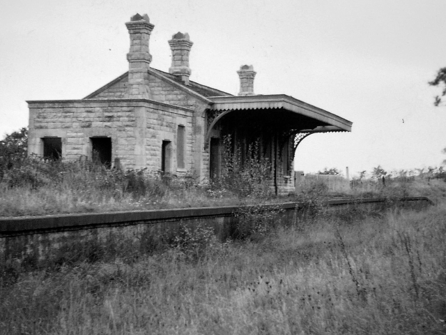 Abbotsbury station in 1962