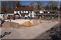 SU5518 : The White Horse pub redevelopment, Beeches Hill by Peter Facey