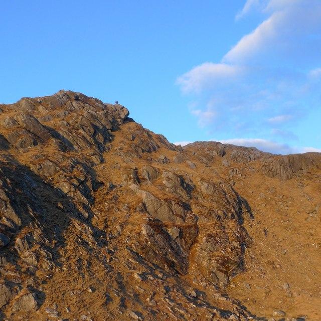 Ridge to Meall nan Each