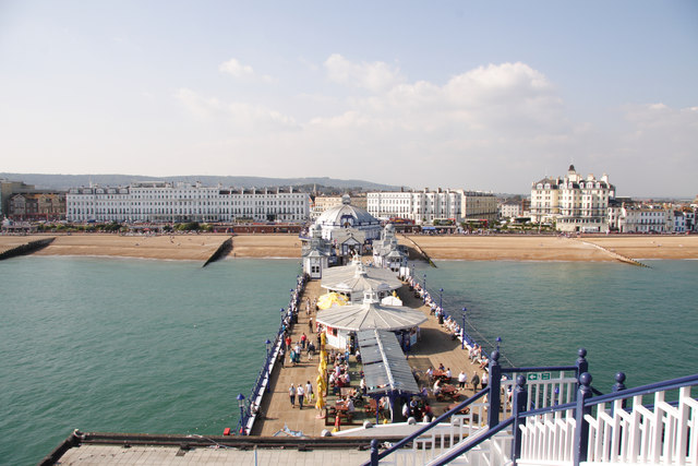 Eastbourne Pier and seafront, East Sussex