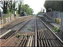 SK6443 : Burton Joyce railway station, Nottinghamshire by Nigel Thompson