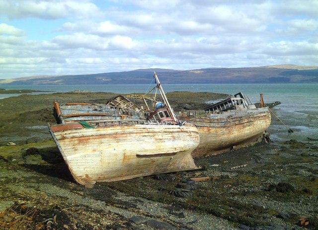 No longer seaworthy
