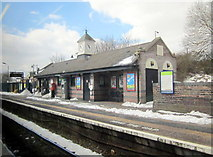 SO9988 : Langley Green Station by Roy Hughes