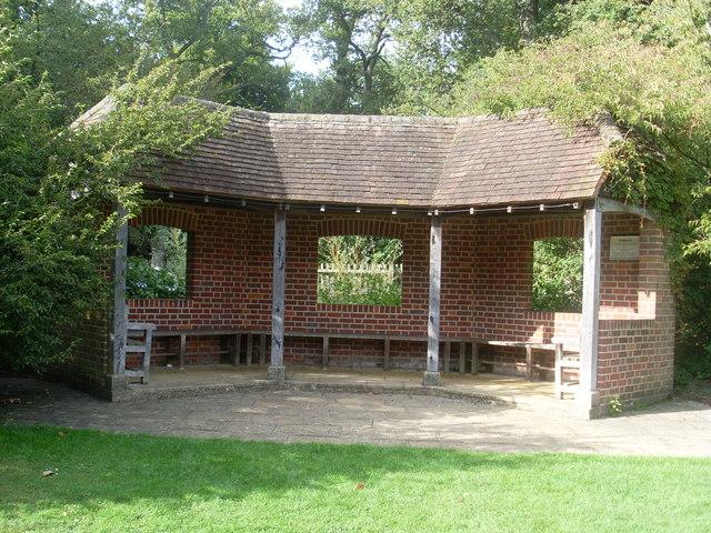 Summer House in Savill Garden
