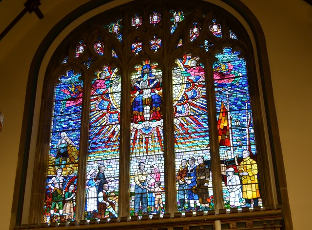 East Window, St Clement's church, Hastings