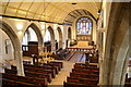 TQ8209 : Nave and north aisle, St Clement's church, Hastings by Julian P Guffogg