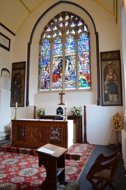 Lady Chapel, St Clement's church, Hastings