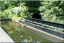SK3155 : Cromford Canal aqueduct by Graham Horn
