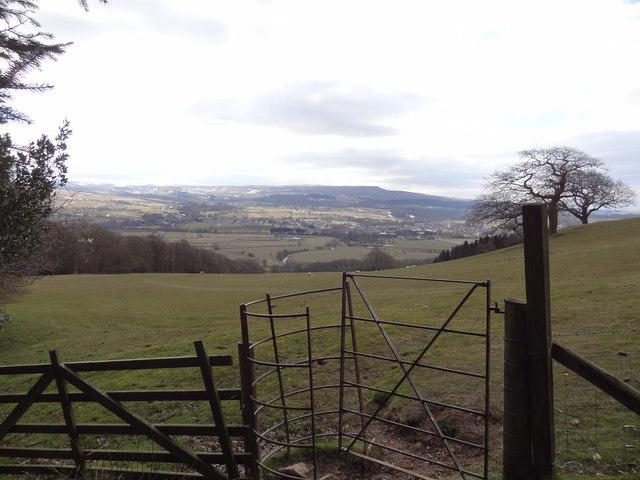 Gate on footpath towards Hawkshead