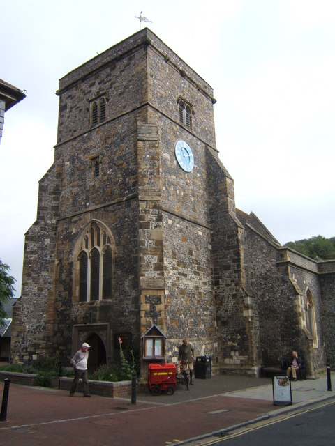 The Church of St Thomas a Becket, Lewes