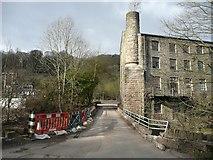 SE0026 : Hard Hippings Bridge, Mytholmroyd by Humphrey Bolton