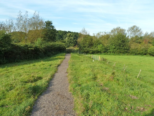 The path to the River Lostock