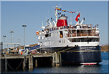 NM8529 : MV Hebridean Princess at Lighthouse Pier, Oban by The Carlisle Kid