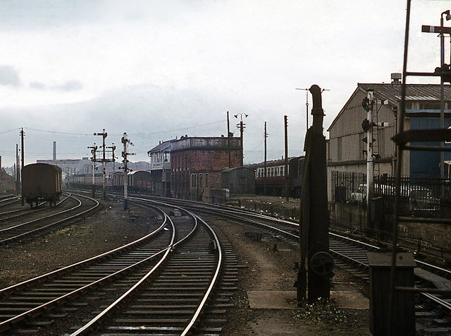 Station throat from Platform 2 - Great Victoria Street