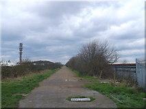 TQ4382 : Greenway to East Ham by David Anstiss