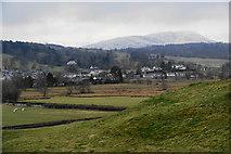SD3598 : Hawkshead from Town End by Bill Boaden