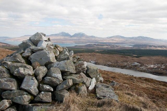 Summit of Giùr-bheinn, Islay