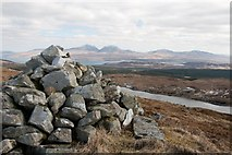 NR3772 : Summit of Giùr-bheinn, Islay by Becky Williamson