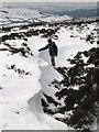 SO3596 : Snow drift near Nipstone Rock by Dave Croker